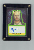 STAR WARS SAGA: THE FORCE AWAKENS AUTOGRAPHED CARD HASSANI SHAPI AS EETH KOTH