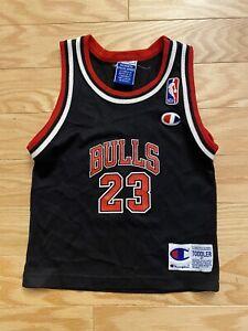RARE VTG Champion Michael Jordan Chicago Bulls NBA Toddler's Jersey Size 4T