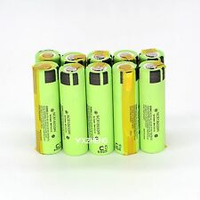 100PCS NCR18650PF 2900mah Rechargeable Li-ion Battery w/h Tabs high drain 10A