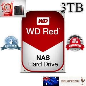 "Western Digital WD Red 3.5"" 3TB NAS Internal Hard Drive OEM"