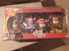 Mr Potato Head - Wizard of Oz Four Character Set. Dorothy & Friends - New In Box