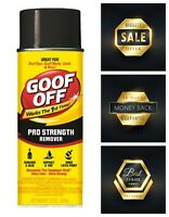 Goof Off Pro Strength Remover Aerosol Best Stain Remover Spray 12-Ounce