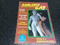 ROMANCE GAY Nº 3  Magazine  vintage gay Spain 1987
