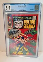 Strange Tales #153 - Marvel 1967 CGC 5.5 FN- Umar Appearance.