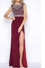Cassandra Stone High Neck Gown Dress Size 12