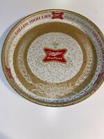 "VINTAGE Miller High Life Brewing Co Beer 12"" Metal Serving Tray"