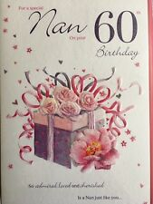 Nan 60th Birthday Card