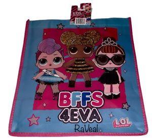 LOL Surprise BFFS 4EVA Reusable Tote Bag Birthday Party Favors Halloween School
