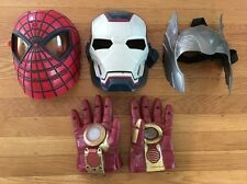 Avengers Mask Dress Up Lot Spiderman Thor Ironman