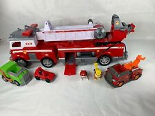 Paw Patrol Ultimate Rescue Fire Truck And Figure Asked Vehicle Lot