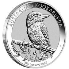 Australien - 1 Dollar 2021 - Kookaburra - Anlagemünze - 1 Oz Silber ST