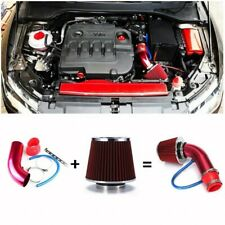 Car Cold Air Intake Filter Pipe Induction Kit Power Flow Hose System Universal