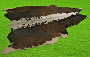 "New Cowhide Rugs Area Cow Skin Leather 16.88 sq.feet (54""x45"") Cow hide U-1668"