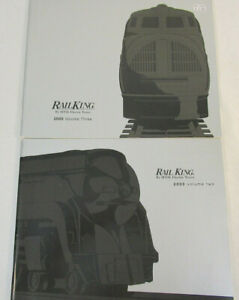 MTH Rail King 2000 Catalogs Volume Two and Three