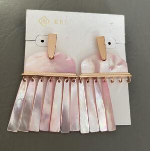 Kendra Scott Layne Pink MOP Earring Replacement $140.00