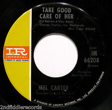 MEL CARTER-Tar And Cement+Take Good Care Of Her-Northern Soul 45-IMPERIAL #66208