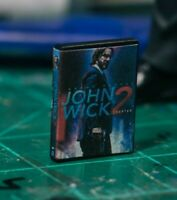 John Wick Chapter 2 DVD Case Diorama PROP ONLY Mezco, Marvel Legends, NECA 1/12