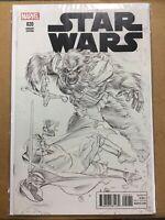 Marvel Star Wars #20 1:100 Mayhew B&W Sketch Variant 2016 Marvel Comics
