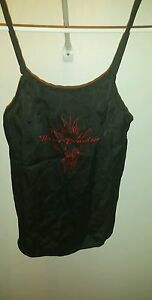 Harley Davidson women's size S Small silk cami top   4I