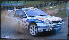 Toyota Corolla WRC 1998 Rally of Great Britain Bausatz Hasegawa 1:24 OVP NEU