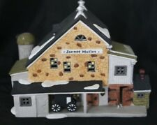 Dept 56 New England ~ Jannes Mullet Amish Barn ~ In Box 59447 Christmas