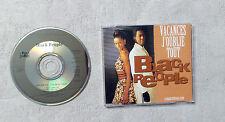 """CD AUDIO / BLACK PEOPLE """"VACANCES J'OUBLIE TOUT"""" CD SINGLE 1995 BLACK MACHINE 3T"""