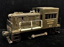 Vintage LIONEL Picatinny Arsenal #42 switcher Locomotive Electric model TRAIN O