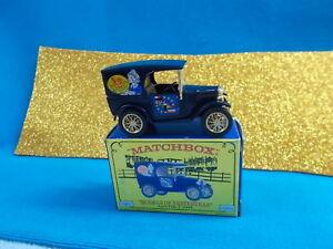 MATCHBOX MODEL OF YESTERYEAR - 5th MICA - 1928 AUSTIN 7 VAN - YY065/SD # 716 NIB