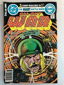 All Out War #6 FN+ (DC Comics 1980)