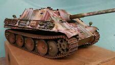heng long 1/16 jagdpanther rc model tank 6.0 version custom painted