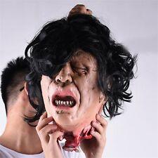 Halloween Scare Dead Head Prop Horror Haunted House Simulation Murder Prank