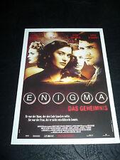 ENIGMA, film card [Dougray Scott, Kate Winslet, Saffron Burrows]