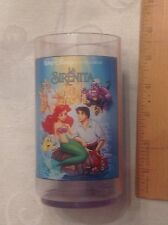 Little Mermaid  -  SPANISH VERY VERY Rare 1994 Burger King Glass - read listing
