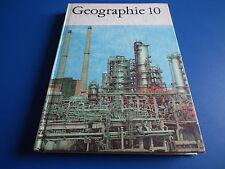 DDR Schulbuch / Lehrbuch -Geographie Klasse 10 Hartcoverausgabe 1971