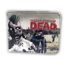 The Walking Dead Mohawk Walker Zombies Adult Bi Fold Wallet