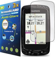 3x Anti-Glare Matte LCD Screen Protector Guard Handheld GPS Garmin Edge 800 810