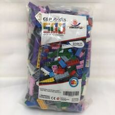 E & P Bricks 500 Ultimate Pack Includes Roof Pieces NIB Damaged Packaging