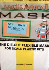 Eduard 1/72 CX423 canopy masque pour les wolfpack de north american T-2C buckeye kit
