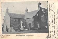 More details for uk38231 parish church carmunnock scotland real photo   uk lot 16 uk