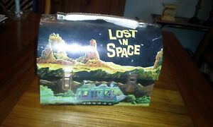 Lost in Space Metal Dome Lunch Box NEW Reproduction 1998