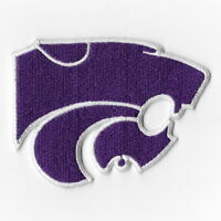 NCAA Kansas State Wildcats Iron on Patches Embroidered Badge Patch Applique Sew