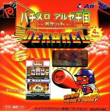 Neo Geo Pocket Color Pachislot Aruze Oukoku Pocket: Dekahel JAPAN mit OVP wieNEU