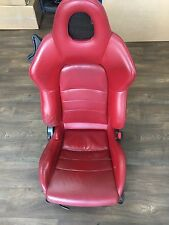 Honda S2000 Seats Leather Red PASSENGER SEAT RIGHT