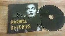 CD Indie Maribel - Reveries (9 Song) Promo SPLENDOUR REC cb