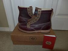 Woolrich Woodsman Work Boots 8 US Mens NEW 7.5 UK 41 EU Goodyear Welt Vibram USA