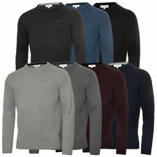 Calvin Klein Mens 2020 Chunky Knit Crew Neck Cotton CK Golf Sweater 36% OFF RRP