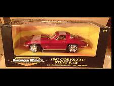 1967 Corvette Stingray Coupe Marlboro Maroon 1:18 Ertl American Muscle 32513