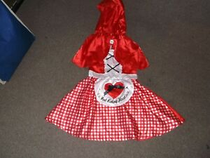 Little Red Riding Hood Fancy Dress Costume...Age 5/6 Years