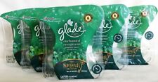 10 Glade Enchanted Evergreens Scented Oil Plugins Air Refills Nutcracker Icy 5PK