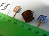 Lot of 3 SHELL OIL Fuel Company vintage pin badges......1960s.(F3)